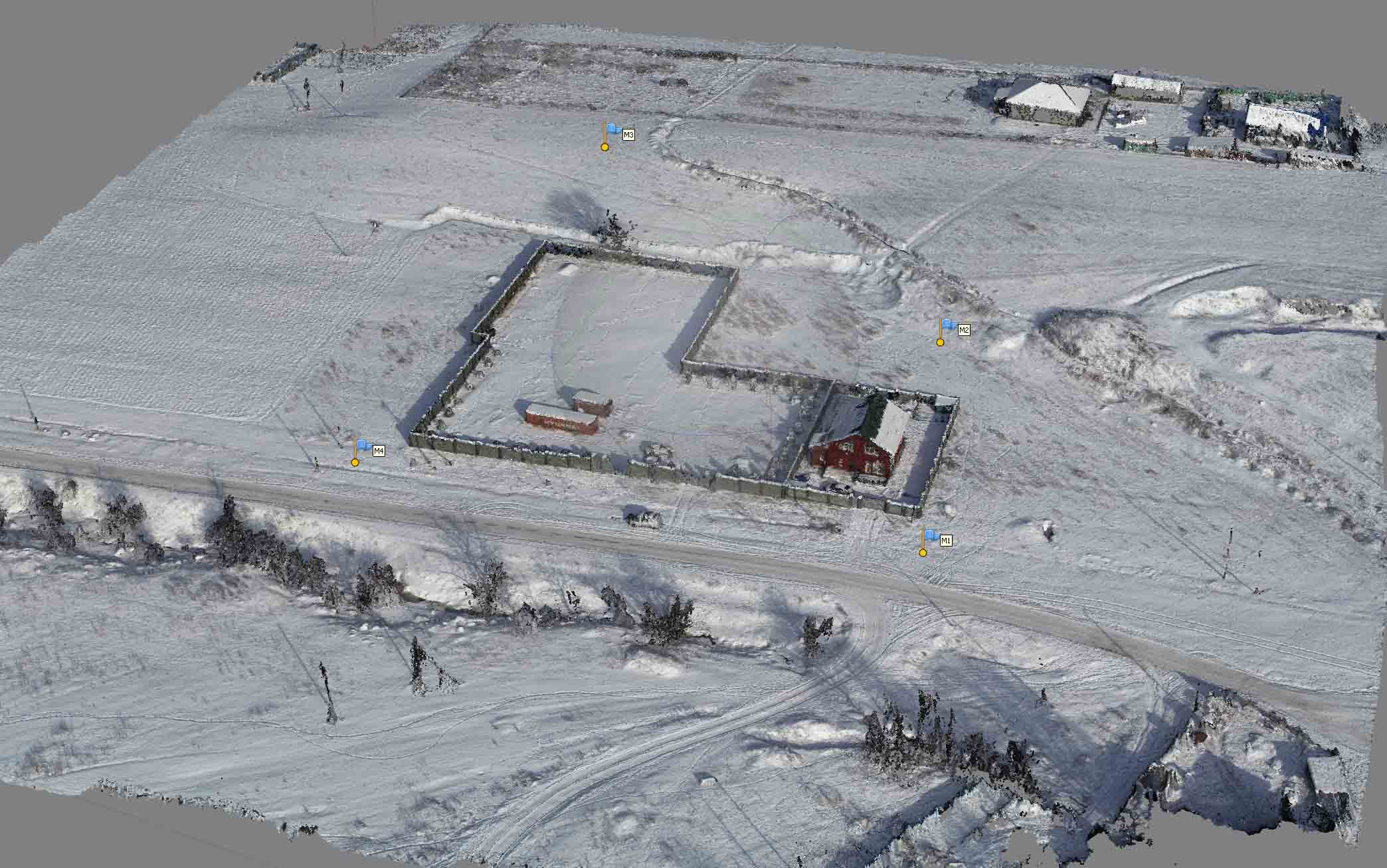 Съёмка участка в Талгаре
